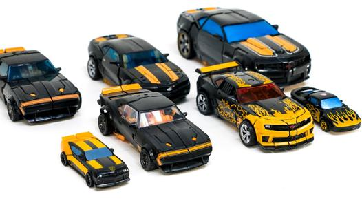 black bumblebee transformer