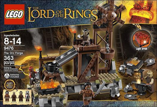 boite lego seigneur des anneaux