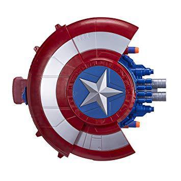 bouclier lance fléchettes captain america