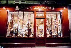 boutique de peluche paris