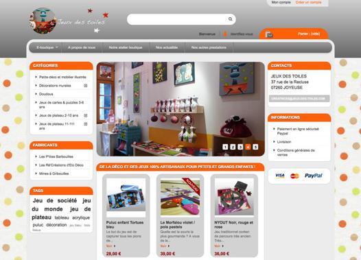 boutique jeux en ligne