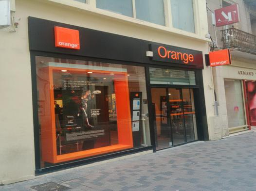 boutique orange beziers