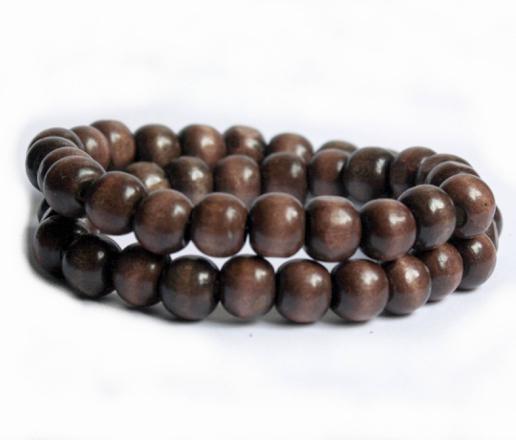 bracelet perle en bois