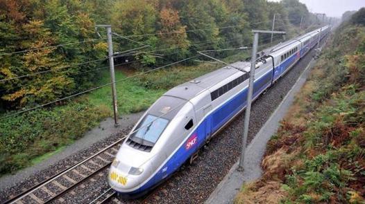 brest rennes train