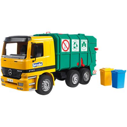 bruder camion poubelle