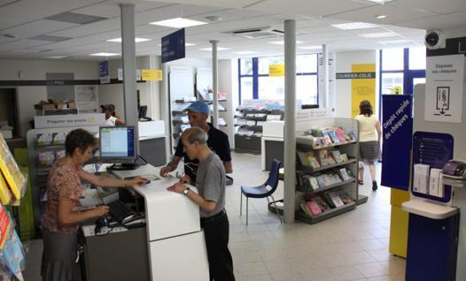 bureau de poste castres