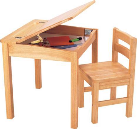 bureau en bois enfant