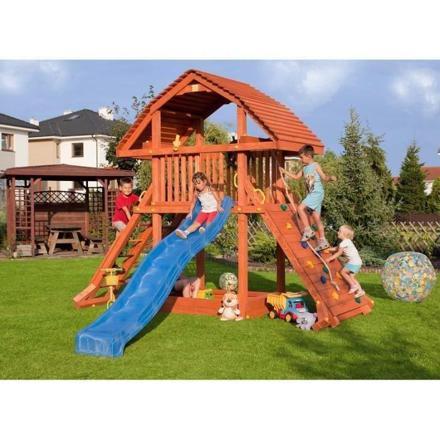 cabane de jeux en bois