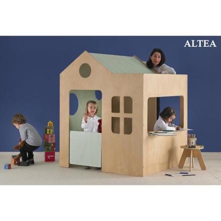 cabane interieur enfant