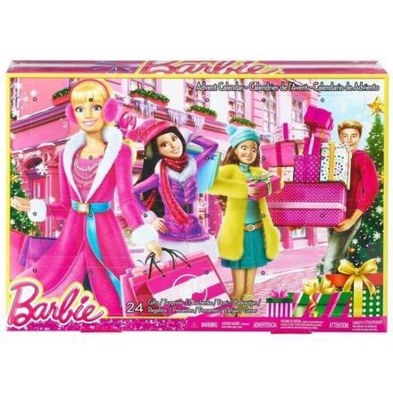 calendrier de l avent barbie
