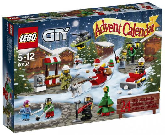 calendrier de l avent lego city 2016