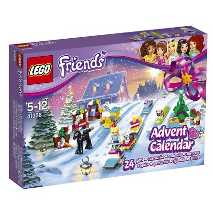 calendrier lego friends