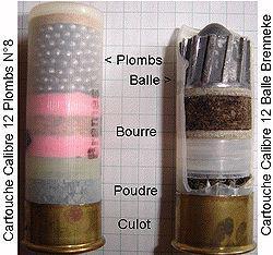 calibre 12 munition