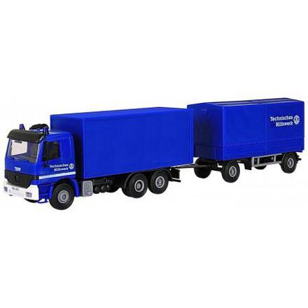 camion avec remorque