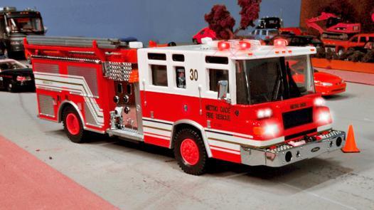 camion de pompier enfant
