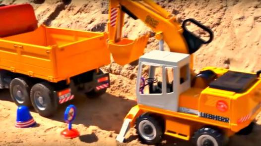 camion de travaux