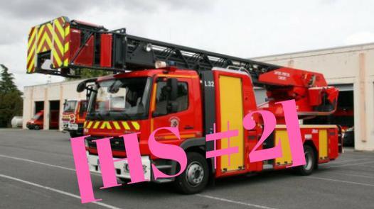 camion echelle pompier
