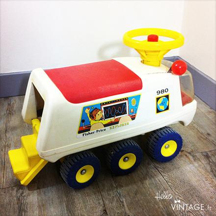 camion fisher price 6 roues