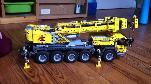 camion grue lego technic 42009