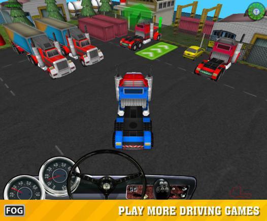 camion jeux 3d