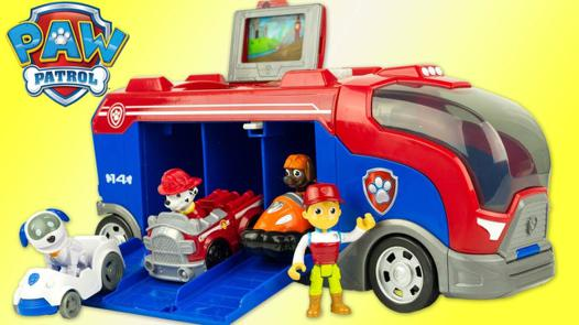 camion mission cruiser paw patrol