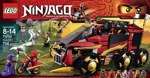 camion ninjago