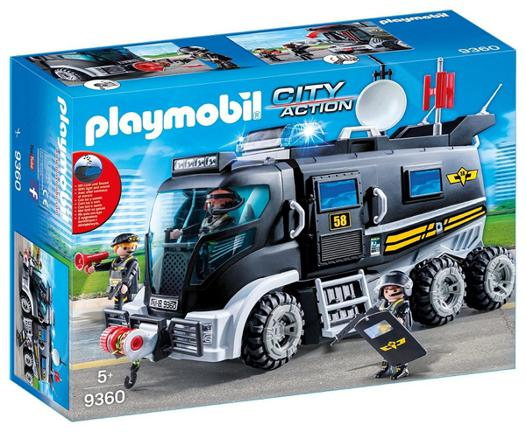 camion playmobil police
