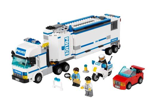 camion police lego
