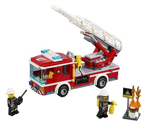 camion pompier lego
