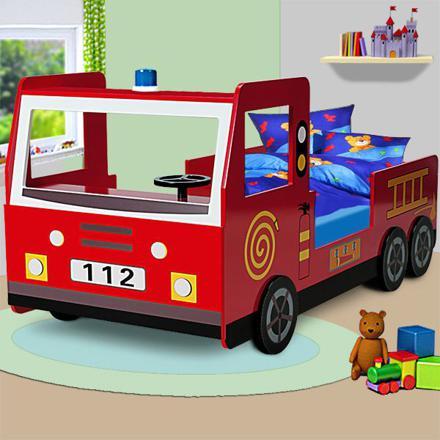 camion pompier pour enfant