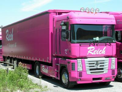 camion rose