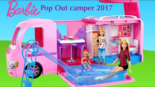 camping car barbie 2017