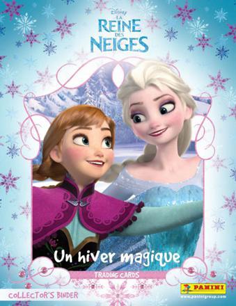 carte de la reine des neiges