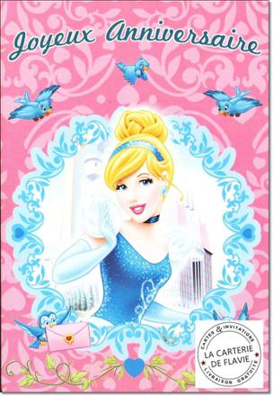 carte disney princesse