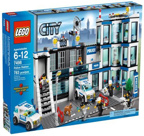 caserne de police lego