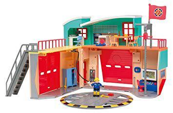 caserne de pompier sam le pompier