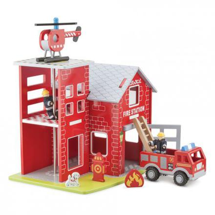 caserne pompier jouet