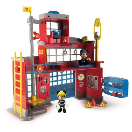 caserne pompier mickey