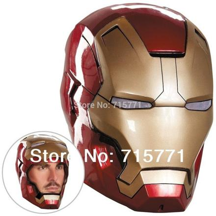 casque iron man adulte