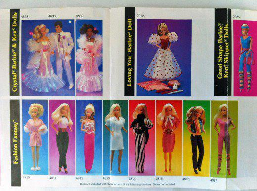 catalogue barbie