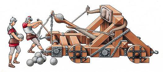catapulte romaine