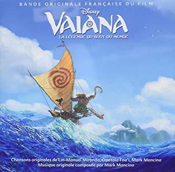 cd musique vaiana