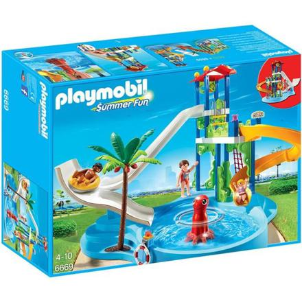 centre aquatique playmobil