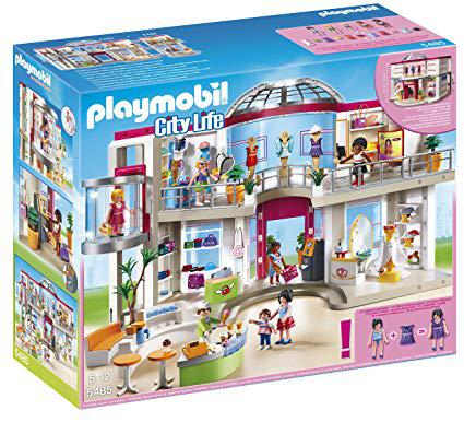 centre commercial playmobil