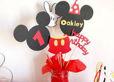 centre de table mickey