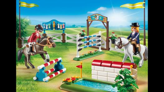 centre equestre playmobil video