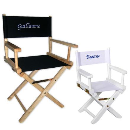 chaise de star personnalisée