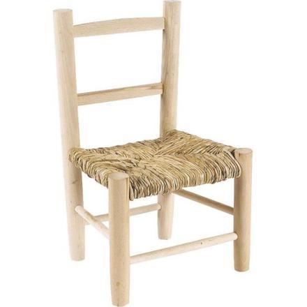 chaise en bois pour enfant