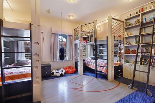 chambre de basket