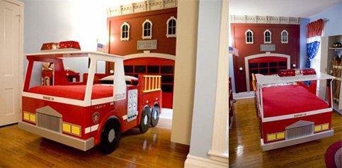 chambre de pompier